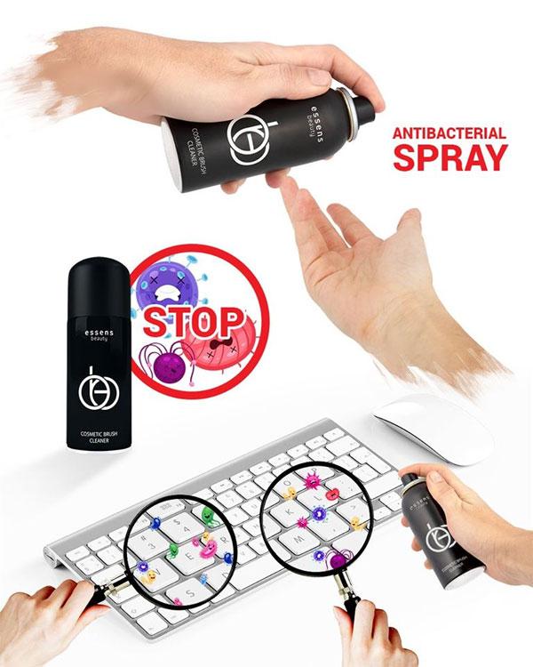 Antibakteriální sprej